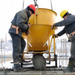 Работы по заливке бетона в зимнее время