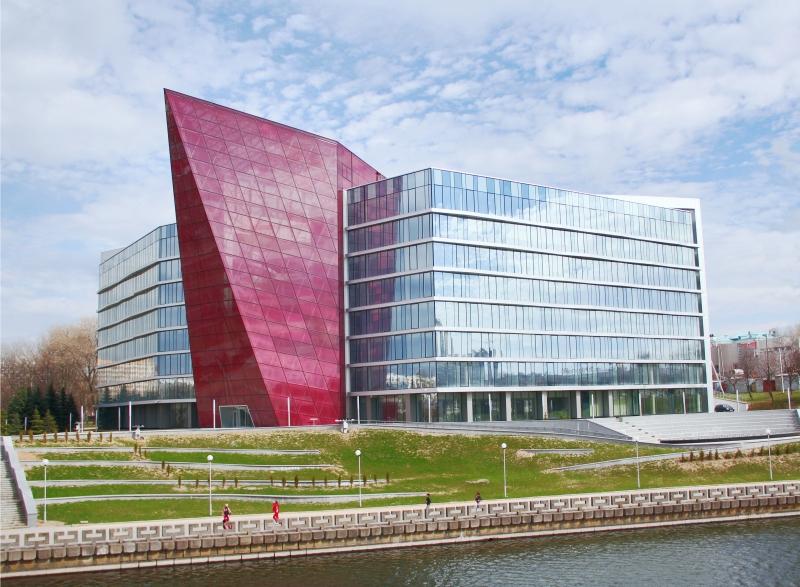 наш проект здание банка развития